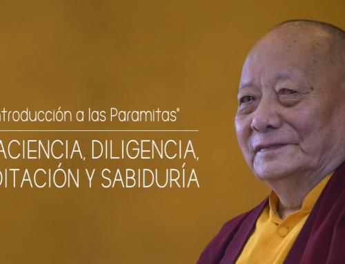 Enseñanzas especiales 3/3 Paciencia, diligencia, meditación y sabiduría-con Khenpo Khartar Rinpoché