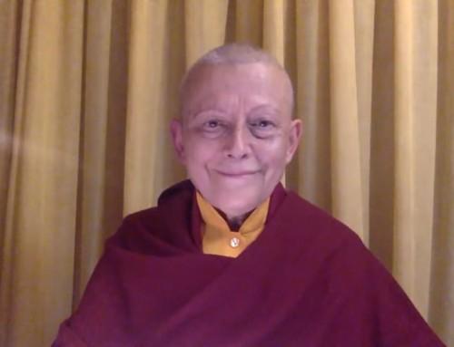 El bienestar de la meditación por Lama Tsondru